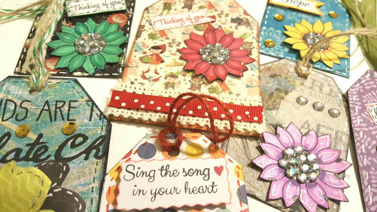 how to make scrapbook embellishments