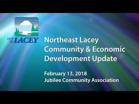 Northeast Lacey Community and Economic Development Update