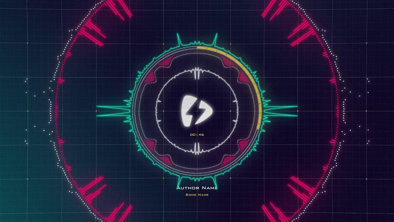 HUD Visualizer | Videobolt net Music Visualizer