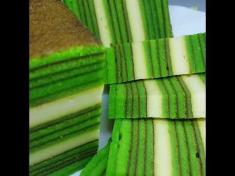 Kek Lapis Pandan Cheese |Elzha Product|