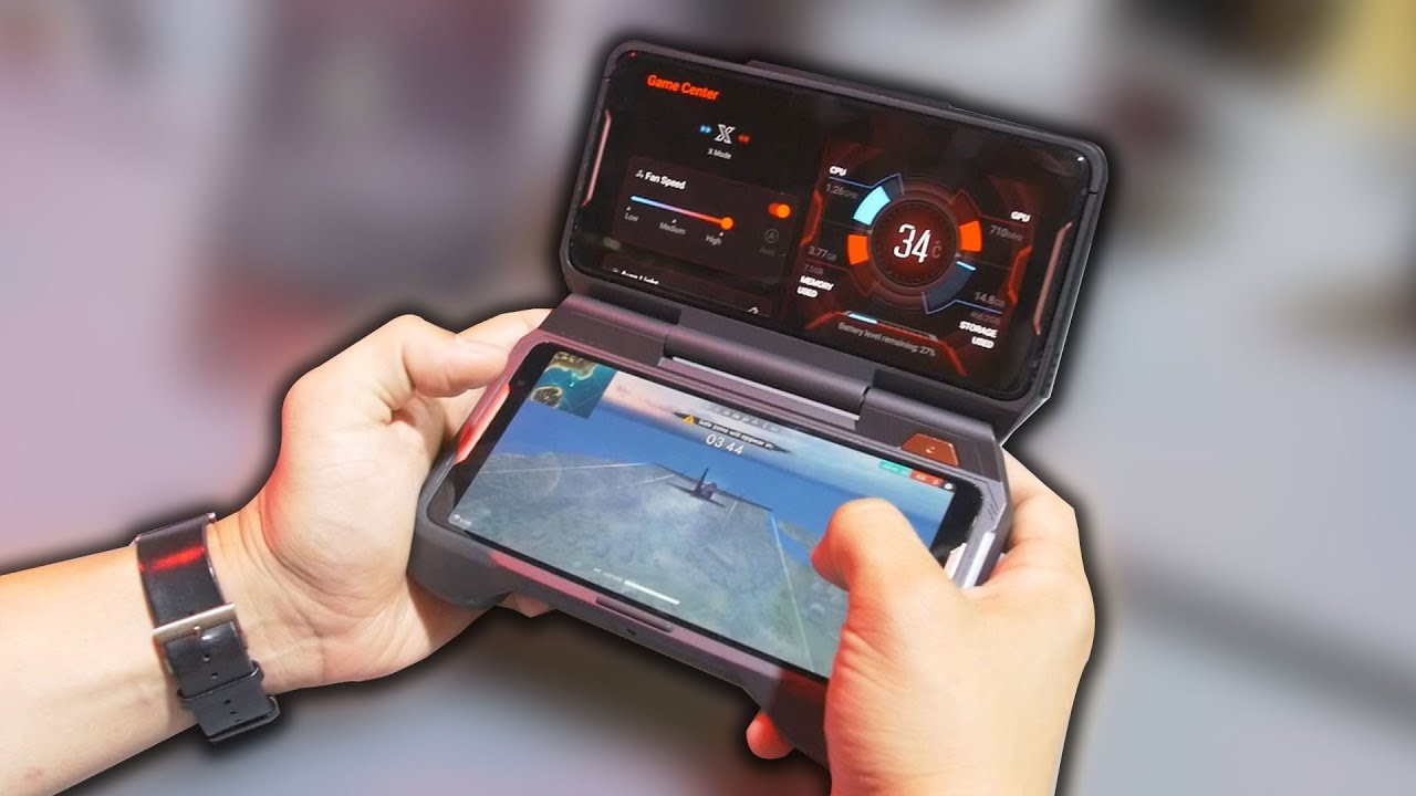 Hands On With The 3 Gaming Accessories For The Asus Rog Phone Youtube