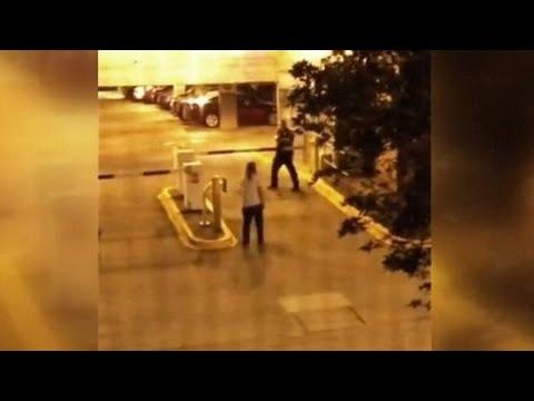 Heftig: politie schiet student dood