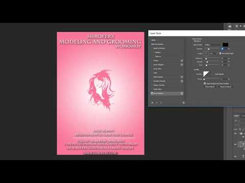 poster making in Photoshop cc 2017 | Photoshop tutorials | fashion poster