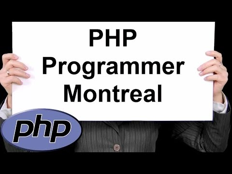 PHP Programmer Montreal 888-411-2221 - PHP  Development Services