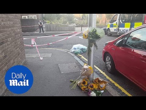 Flowers left at crime scene after fatal Camberwell stabbing