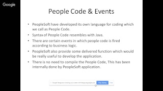PeopleSoft Technical Demo