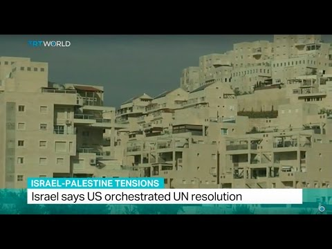 Israel-Palestine Tensions: Israel says US orchestrated UN resolution