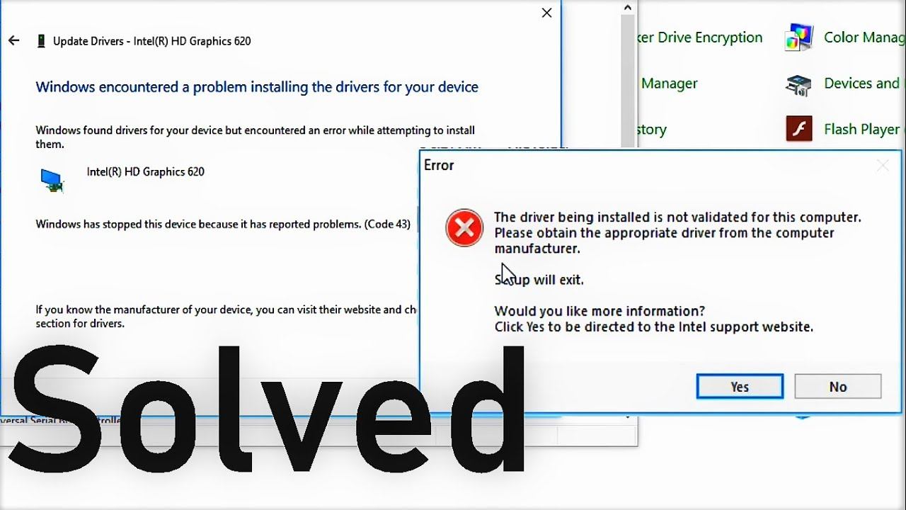 How To Fix Error Code 43 Windows Encountered A Problem Installing