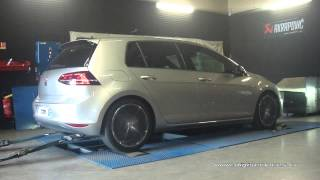 VW Golf 7 tdi 184cv DSG Reprogrammation Moteur @ 225cv Digiservices Paris 77 Dyno