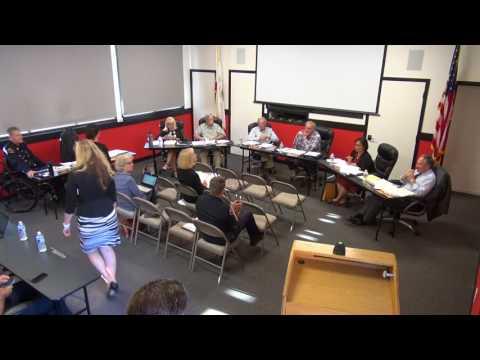 July 18, 2017 Board Meeting