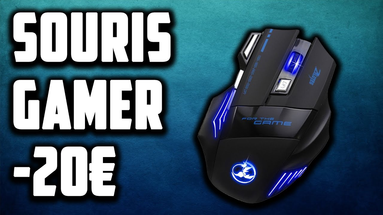 unboxing souris gamer zelotes for the game 5500 dpi 12 fr youtube