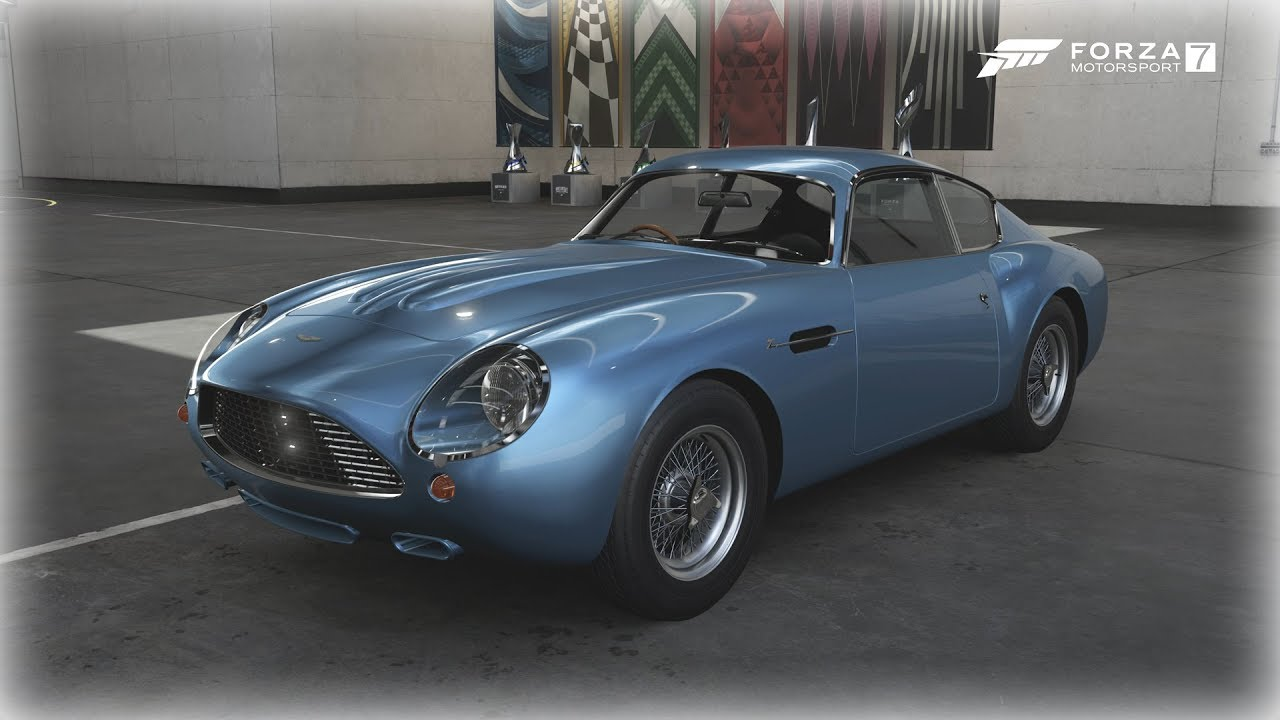 All Types aston db4 zagato : Forza Motorsport 7 - 1960 Aston Martin DB4 GT Zagato - YouTube