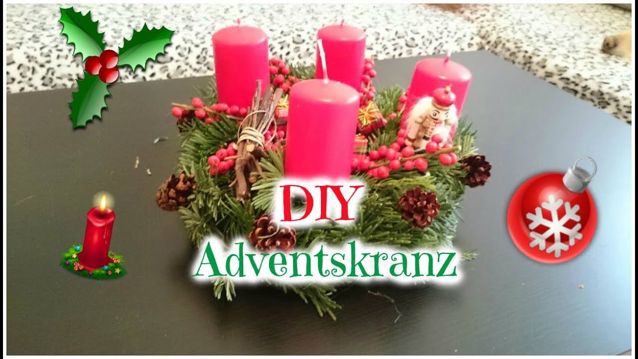 diy adventskranz schnell selber machen der. Black Bedroom Furniture Sets. Home Design Ideas