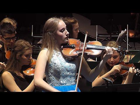 "Elsa plays ""Frozen"" by Vivaldi - Violin Concerto No. 4 in F minor, Op. 8,  Winter  from Four Seasons"