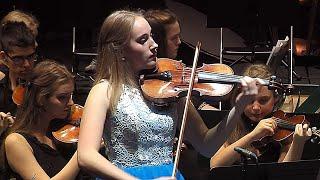 "Gambar cover Elsa plays ""Frozen"" by Vivaldi - Violin Concerto No. 4 in F minor, Op. 8,  Winter  from Four Seasons"