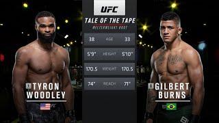 UFC 264 Free Fight: Gilbert Burns vs Tyron Woodley