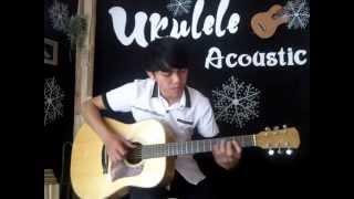Quán cà phê mùa hè Solo Guitar