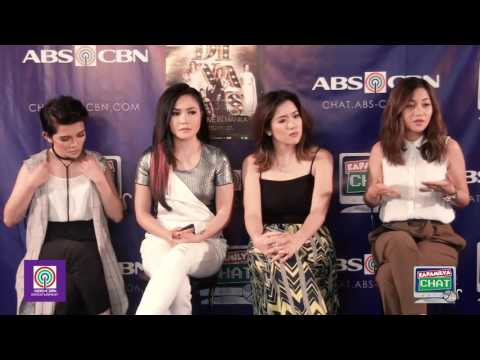 Kapamilya Chat with KZ, Kyla, Yeng and Angeline for DIVAS Live In Manila Concert