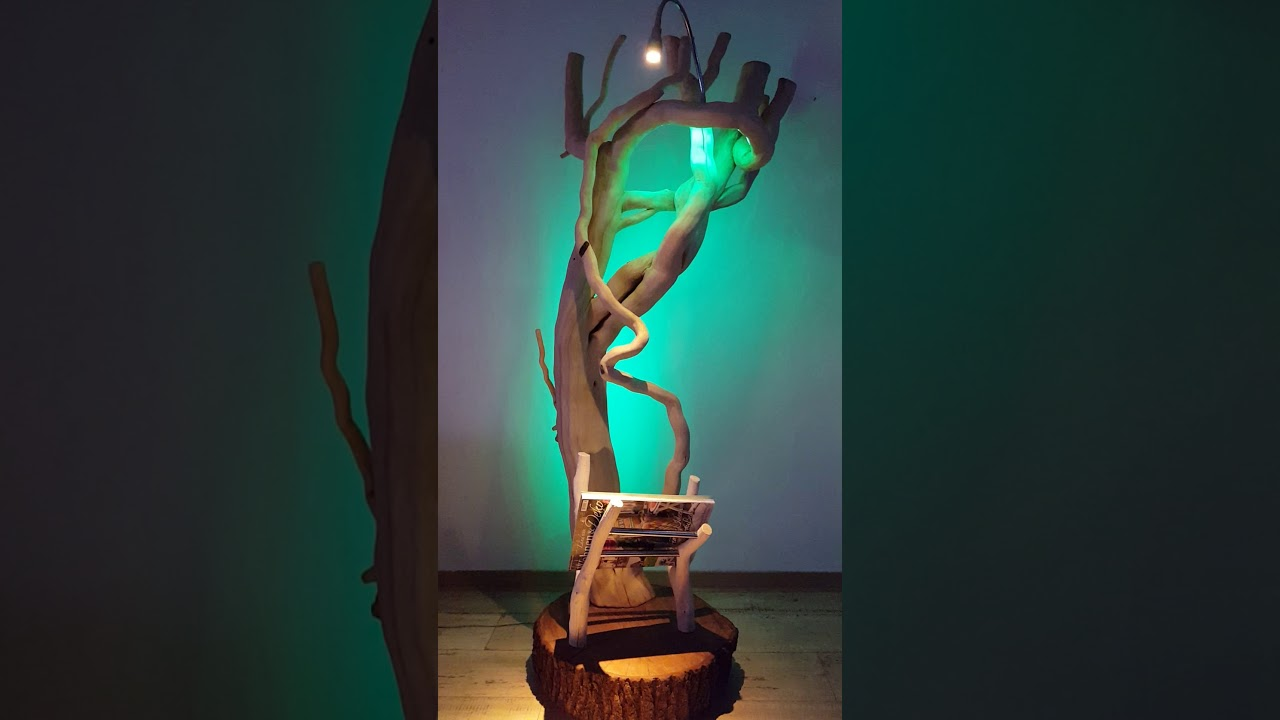 Designer Lampe selber bauen | Lampe aus Holz selber bauen ...