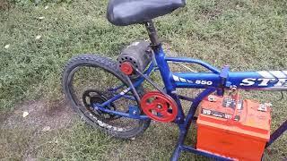 Дешманский Электро велосипед своими руками.