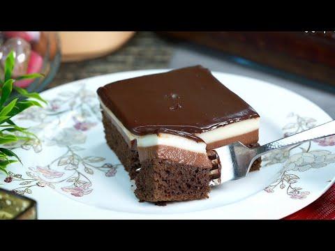 كيك شوكولاتة 3 طبقات