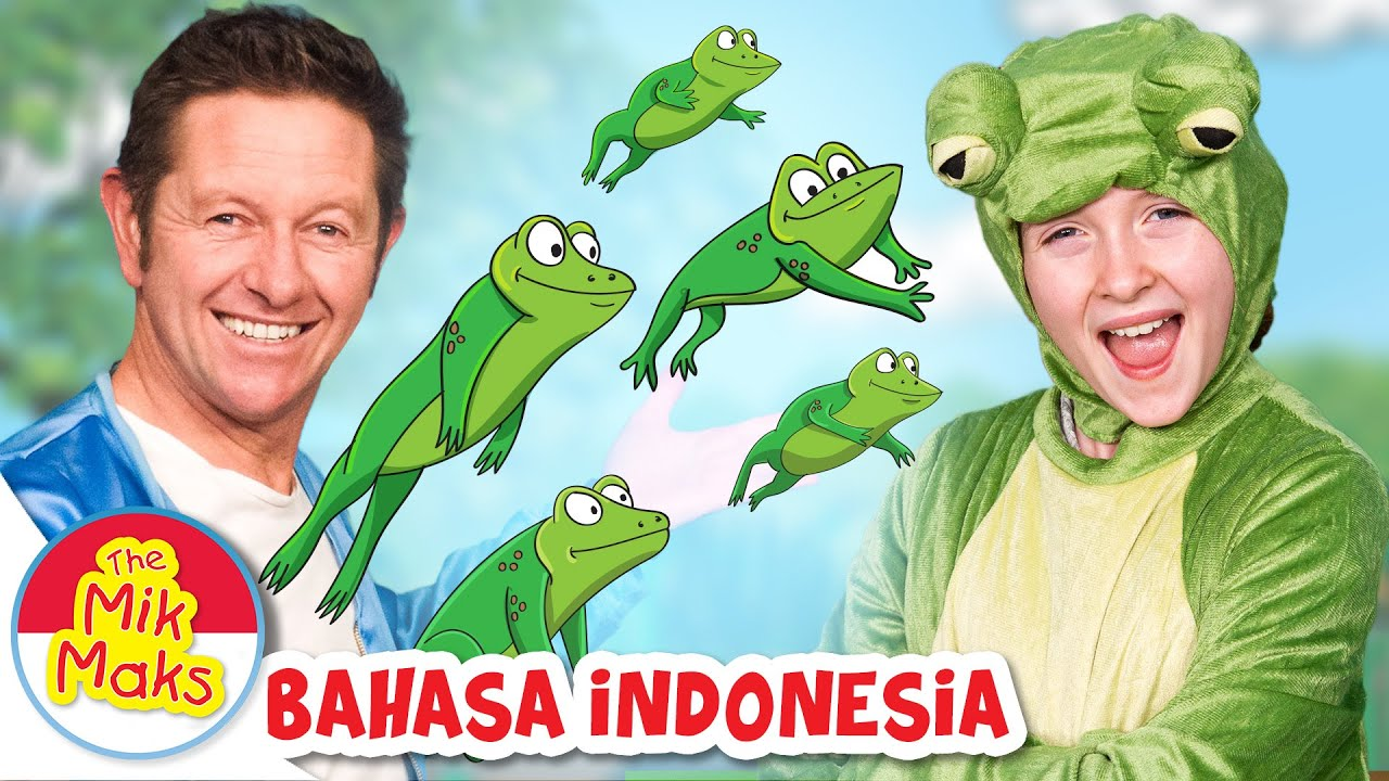 Lima Katak Bintik Kecil | lagu anak anak | The Mik Maks Indonesia