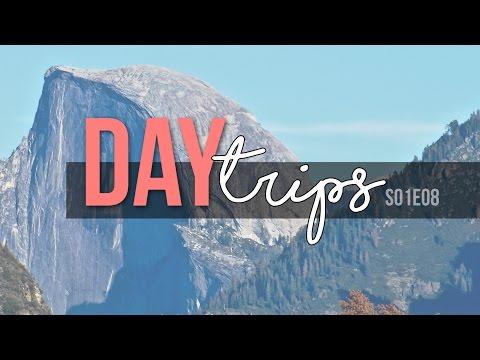 Day Trips // Yosemite, Half Dome, and Yosemite Falls // S01E07 Travel Vlog - Full Time RV