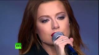 Юлия Савичева - Высоко (Концерт-митинг «Мы едины»)