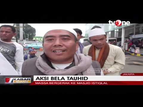 Ribuan Peserta Aksi Protes Pembakar Bendera Berkumpul Di Jakarta