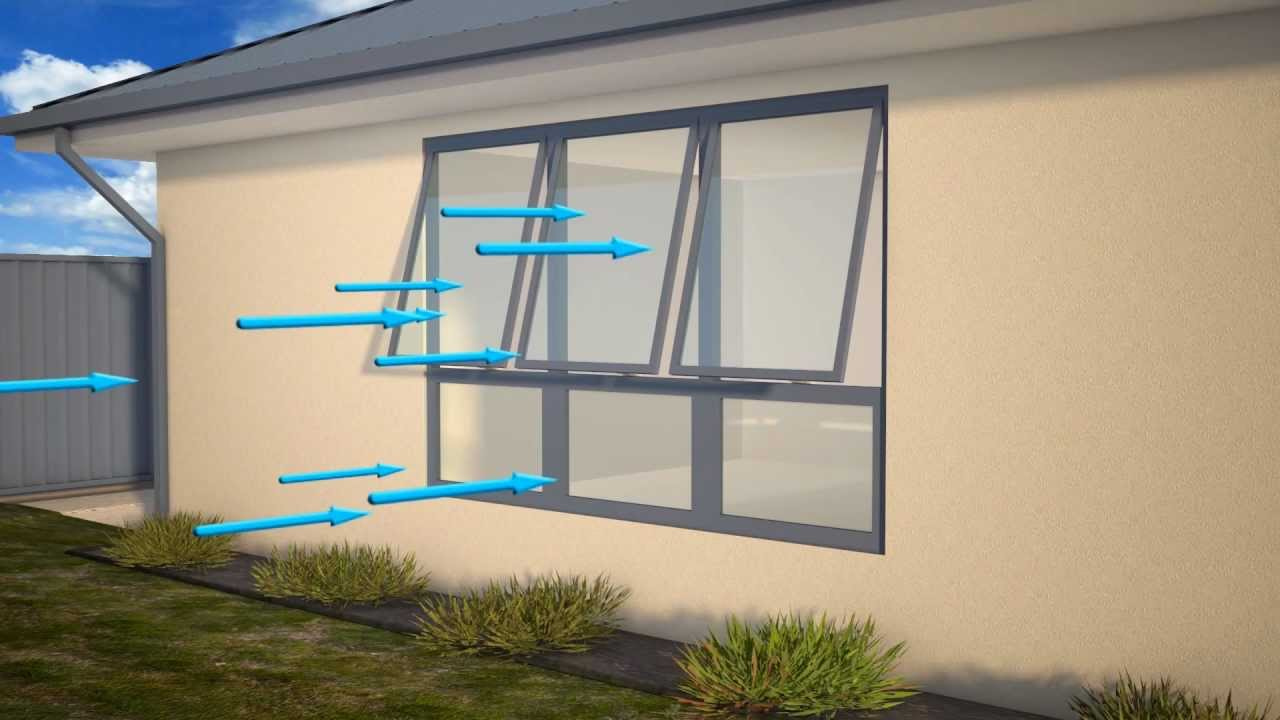 Ventilation Rates And Energy Efficiency Of Various Window