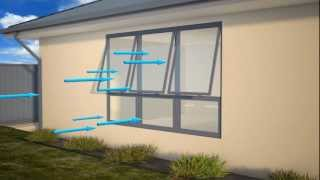 Ventilation Rates and Energy Efficiency of Various Window Types