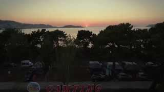 Video Camping Bayona Playa Vistas Aéreas