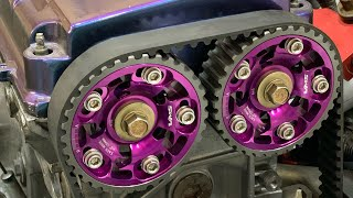 B20 vtec N/A build step by step PART 4 Swap installation and First start up