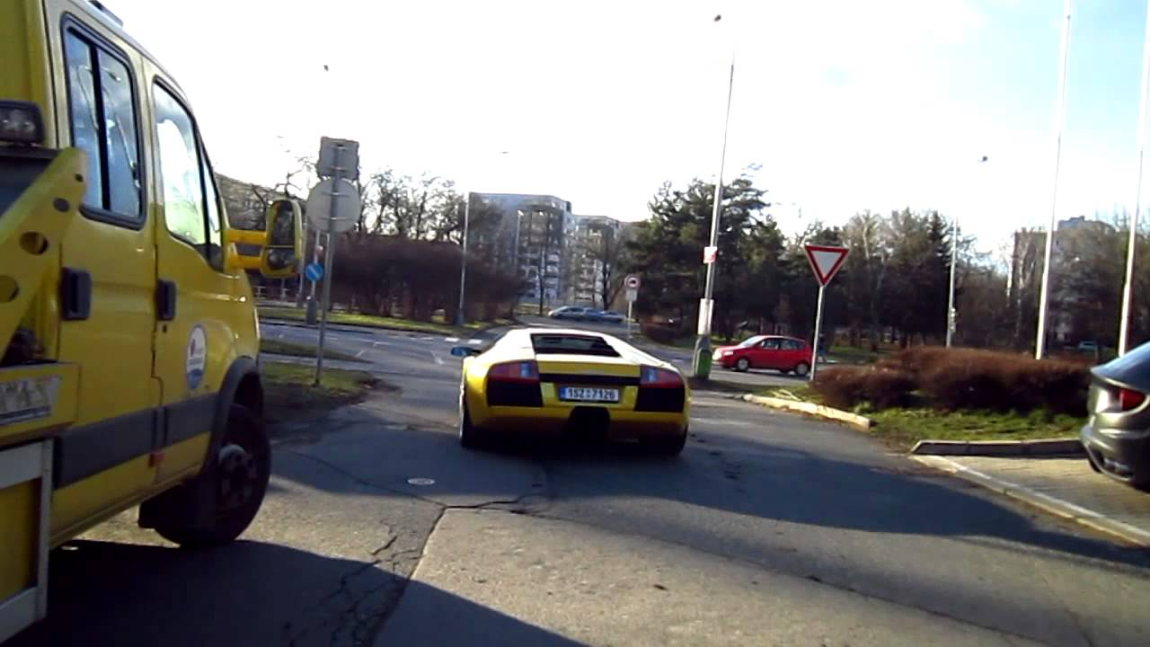 Old Lamborghini Murcielago L147 Delivery In Prague Advantage Cars