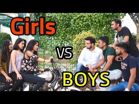 Girls VS Boys | College Life | Idiotic Launda | Rahul Sehrawat