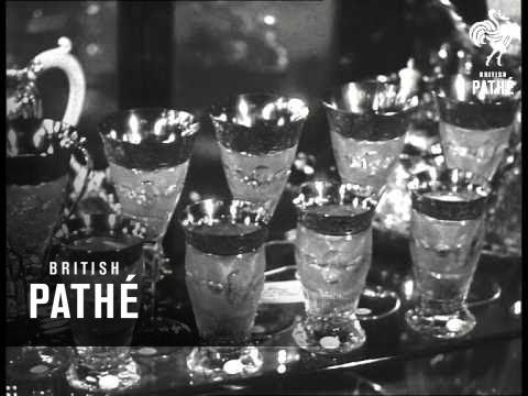 Royal Wedding Presents On Display (1947)