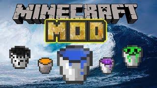 Mod De Tsunamis En Minecraft (apocalyptic buckets mod) ¡¡¡destruye tu mundo de minecraft!!! /1.7.10