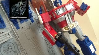 Masterpiece Optimus Prime with Trailer+Vector Sigma Gift Set (Hasbro Reissue) Stop Motion Review
