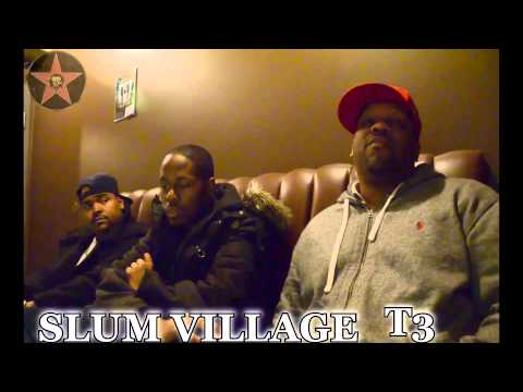 Exclusive Interview with Slum Village T3, Illa J & Young RJ)