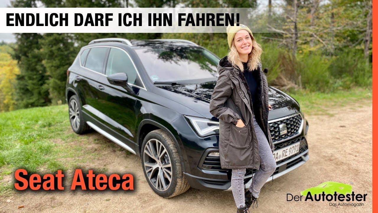 Download 2021 Seat Ateca im Test!💙 Endlich darf ich das Facelift fahren! Fahrbericht   Review   Xperience 🏁