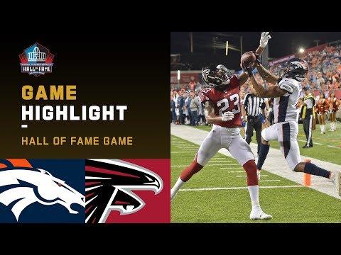 Broncos vs. Falcons HOF Game Highlights   NFL 2019