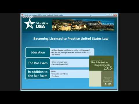 Understanding U.S. Legal Education and Admission with Pepperdine U - Law