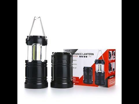 Hisonde 2 Pcs Military Grade Camping Lantern