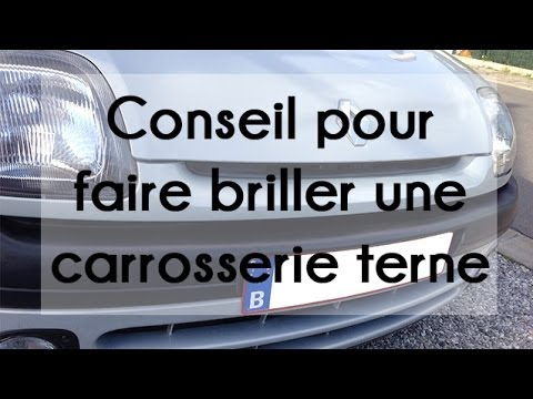 conseil pour faire briller une carrosserie terne polish r novateur youtube. Black Bedroom Furniture Sets. Home Design Ideas