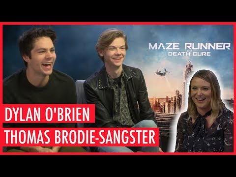 Dylan O'Brien makes reporter blush by interviewing her!