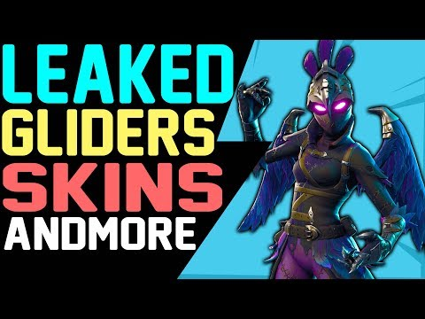 NEW Fortnite LEAKED SKINS Patch 5.30, GLIDERS, EMOTES, BACK BLINGS, PICKAXES, Season 5 Battle Royale