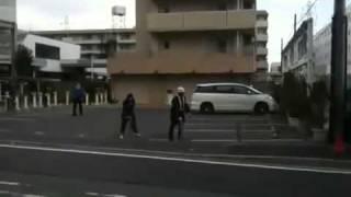 Tokyo le 11 Mars 2011  - Japan earthquake tsunami 2011