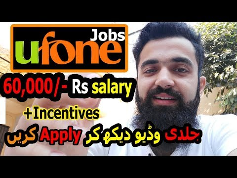 Earn 60,000/- pkr monthly income ufone activity job