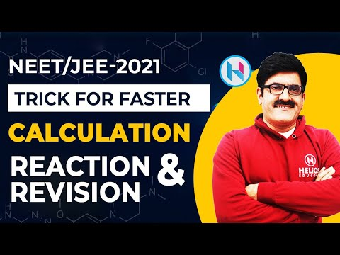 Trick for Faster Calculation, Reaction and Revision | JEE | NEET | 11th & 12th
