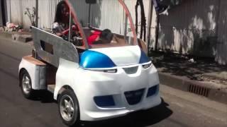 Kisah Pembuat Mobil Listrik Yogyakarta